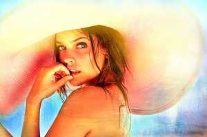 """Summer"" - Barbara Palvin Emblazoned Artwork #1"