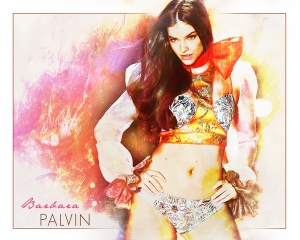 Barbara Palvin Emblazoned Artwork #7