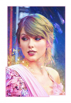 Taylor Swift Emblazoned Artwork #2
