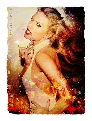 Taylor Swift Emblazoned Artwork
